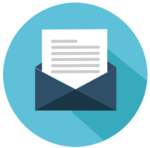 Icon von einem geöffneten Brief