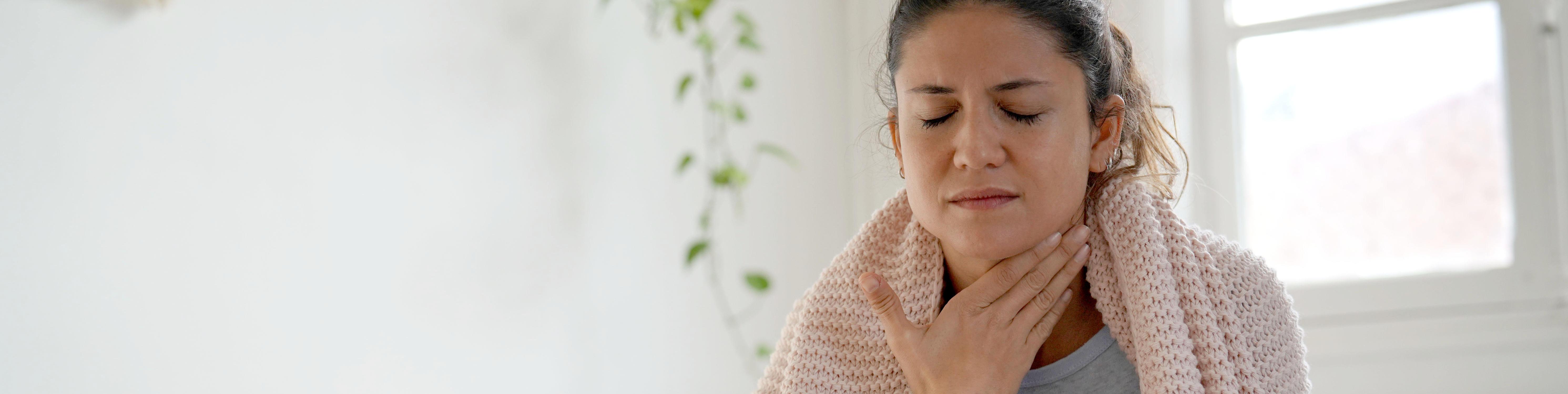 Halsschmerzen, Mandelentzündung, Fieber