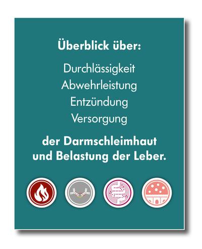 Kasten mit Kurz-Informationen zum Darmschleimhaut-Check