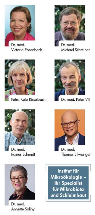 Portraits der Hotline-Ärztinnen und -Ärzte