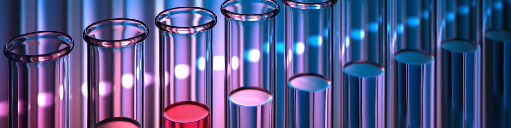 Reagenzgläser, Bunte Reihe, Studien Mikrobiom