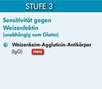 Stufe 3 - Weizensensitivität
