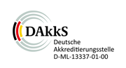 DAkkS - Deutsche Akkreditierungsstelle D-ML-13337-01-00